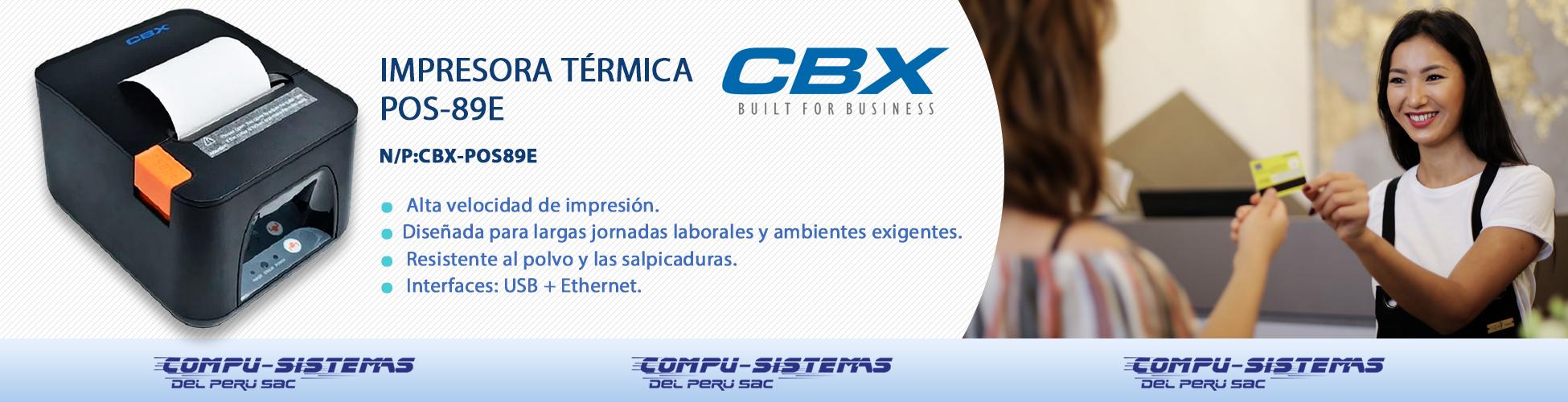 IMPRESORA CBX POS 89E