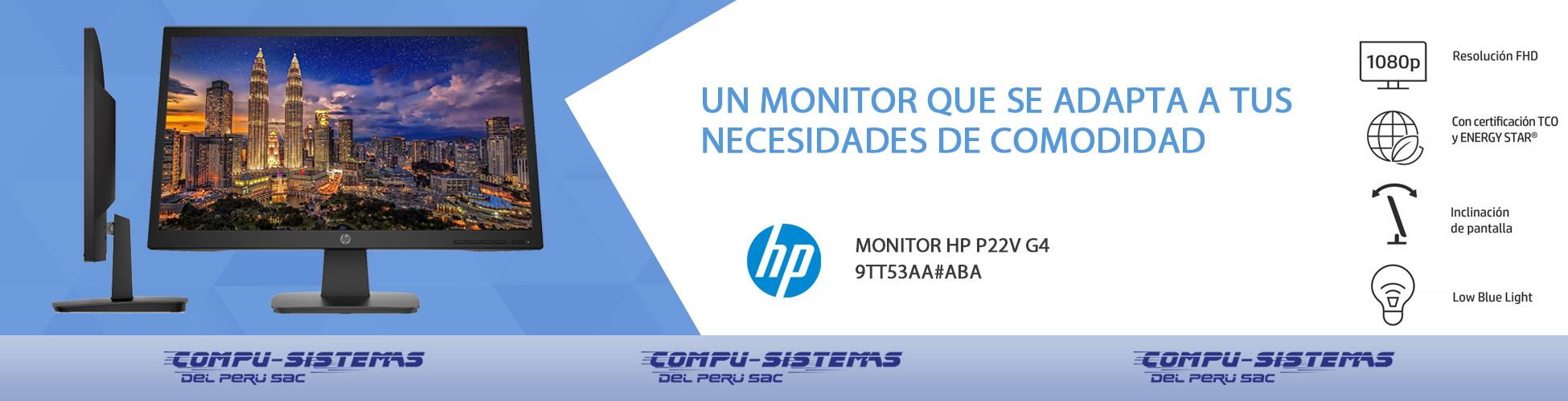 propuesta banner Monitor HP P22v G4