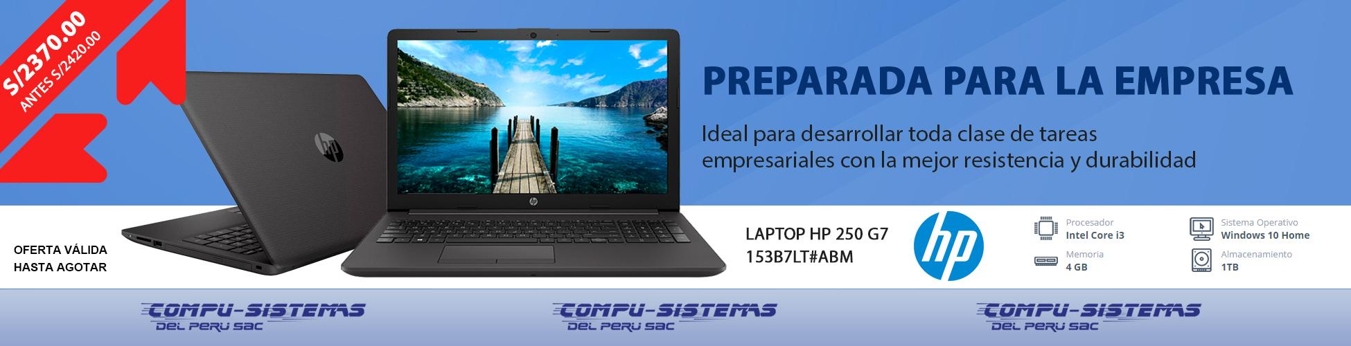 propuesta banner laptop HP 250 GT